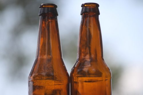 Side-by-Side of a Kona bottle and a normal bottle.