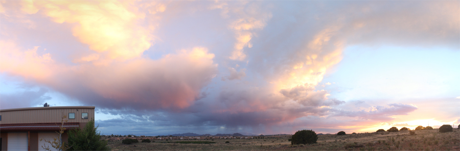 New Mexico: Big cloud country