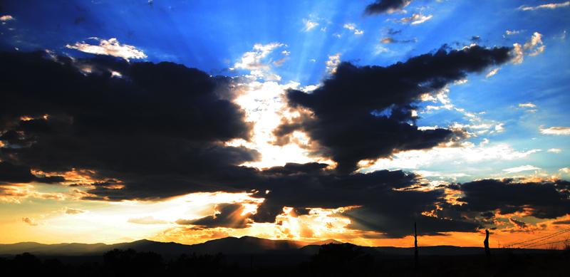Clouds in Puebla